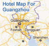 hotel map of guangzhou